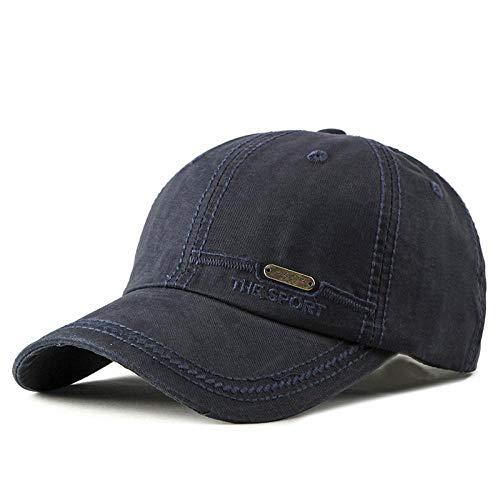 Gorra Summer Fashion Plain Dad Hats Hip Hop Cap para Hombres Mujeres Snap Back Gorras de béisbol Khaki Black Trucker Hat Bones Masculino