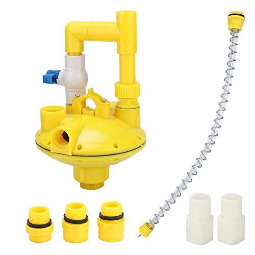 Válvula reductora, regulador de presión de agua Válvula reductora reguladora para bebedero,...