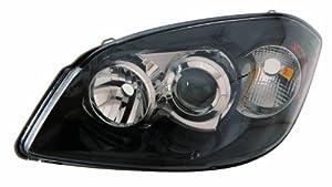 FORD FOCUS 98-04 BLACK HEADLIGHTS R8 LED RIDING LIGHTS