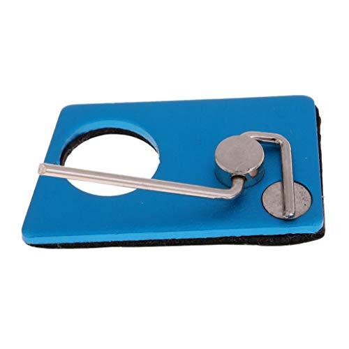 perfk Metall Pfeilauflage für Recurvebogen, Jagdbogen - Blau