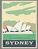 2022 Vintage Australia Weekly Planner: Monthly and Weekly Planner | Vintage Sydney Australia Travel Poster Cover | Jan 1, 2022 to Dec 31, 2022 | Full ... | Inspirational Quotes & Pages for Notes