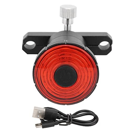 Luz Trasera de Bicicleta Luces traseras de Bicicleta con detección automática para conducción Nocturna, luz de Advertencia de Carga USB para Bicicleta