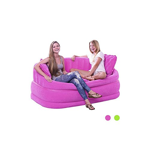 INTEX-aufblasbares LOUNGE Sofa INTEX POP, Rosa