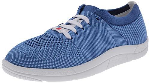 Berkemann Damen Allegra Sneaker, Blau (Petrol/Türkis), 39.5 EU