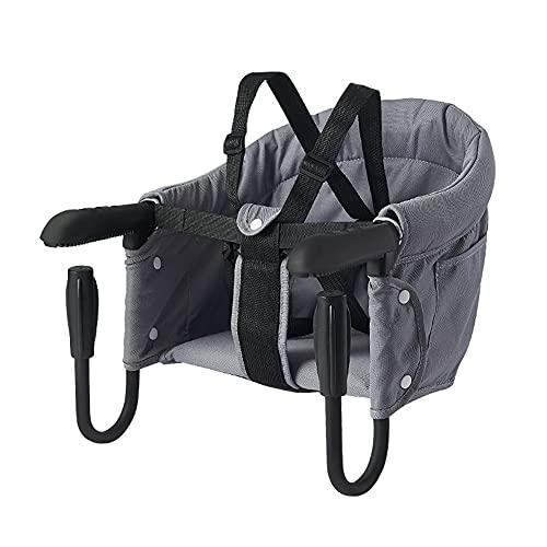 Babystuhl,Faltbarer Babysitz Hochstuhl für Esstisch Stuhl Sitz zum Befestigen am Tisch BabyTischsitz mit Atmungsaktivem Weichpolster Gepolsterter Tischstuhl für zu Hause