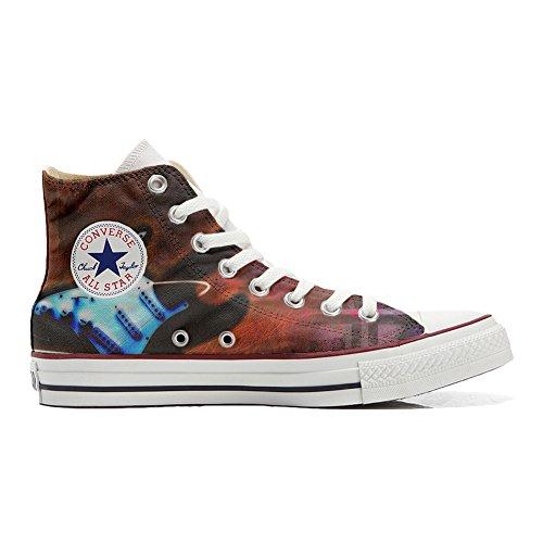 Shoes Sneakers Unisex Original USA personalisierte Schuhe (Handwerk Produkt) Gitarren - TG41