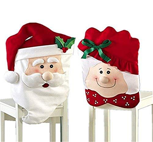 fundas para sillas de comedor navideñas fabricante Ljings