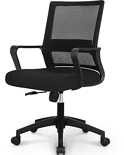NEO CHAIR Mesh Office Chairs Computer Desk Adjustable Swivel Ergonomic Back Lumbar Support Task Home...