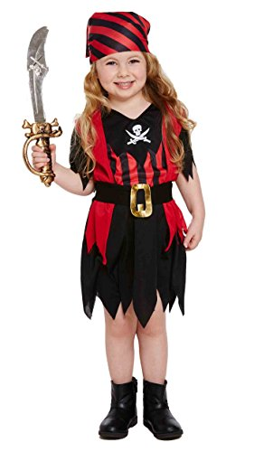Pirate Fancy Dress, Costume for Girls and Toddlers