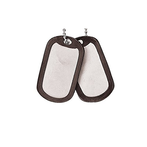 Rothco Dog Tag Silencers, Black