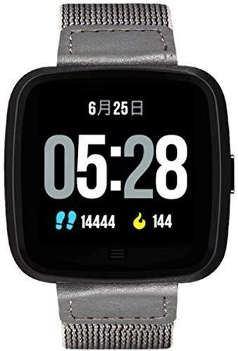 GANG Fitness Tracker G12 Reloj Inteligente/Recordatorio de Llamadas Monitor de Ritmo Cardíaco Monitor de la Correa Desmontable con Reloj Bluetooth Ip67 Nivel de Protección Se Pued