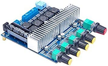 KNACRO TPA3116 2.1 Subwoofer Amplifier Board DC12-24V HIFI Digital Amplifier Board 50W + 50W + 100W
