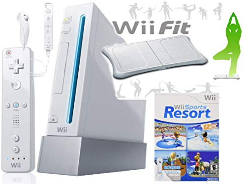Wii Console System with Wii Sports Resort Game