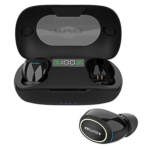 Auriculares Inalambricos,Auriculares Inalambricos Bluetooth,Auriculares Bluetooth,Cascos Inhalabricos In Ear,Cancelacion Ruido Activa,IPX4 Impermeable,Control Táctil,40 Horas Reproducción ,Black