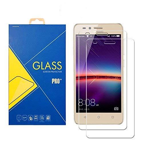 [2 Pack] Panzerglas Schutzfolie Huawei Y3II / Y3II Pro / Y3 2 Pro - Gehärtetem Glas Schutzfolie Bildschirmschutzfolie für Huawei Y3II / Y3II Pro / Y3 2 Pro