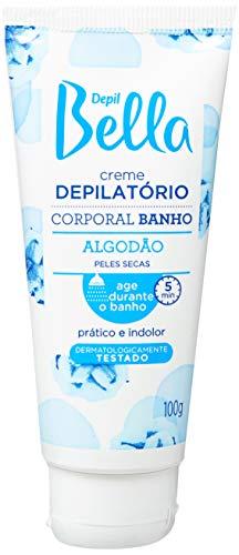 Creme Depilatório Corporal Banho Algodão, Depil Bella, 100G