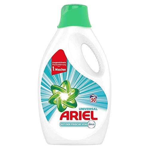 Ariel Universal vloeibaar wasmiddel met de versheid van Febreze 2.75 l, 50 wasbeurten