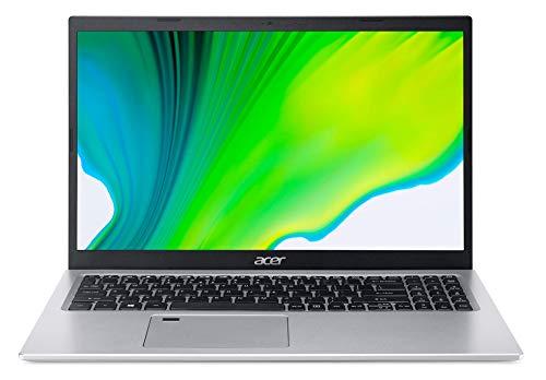 Acer Aspire 5 - Portátil 15.6' FullHD (Intel Core i5-1135G7, 8GB RAM, 512GB SSD, UMA Graphics, Sin Sistema Operativo), Color Plata - Teclado QWERTY Español