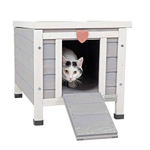 Petsfit Outdoor Cat House, Feral Cat Shelter Weatherproof,...