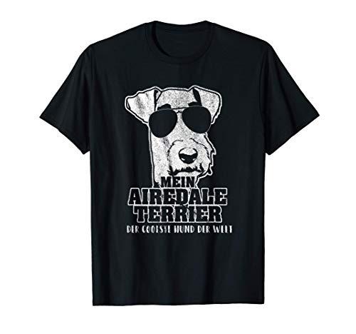 Mein Airedale Terrier der coolste Hund der Welt T-Shirt