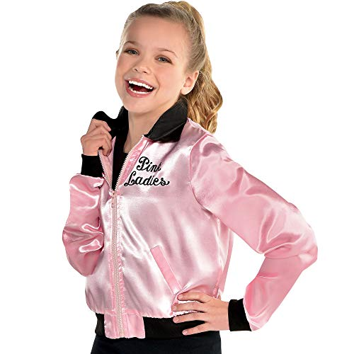 Girl's Pink Grease Jacket- Standard Size   1 Pc.