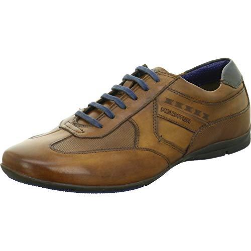 Daniel Hechter 8.21248E+11, Sneakers Basses Homme, Marron (Cognac/Blue 6340), 40 EU