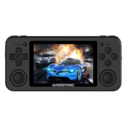 Whatsko RG351P RK3326クアッドコア レトロゲーム機 3Dジョイスティック 3.5インチフルHD IPSスクリーン 35...