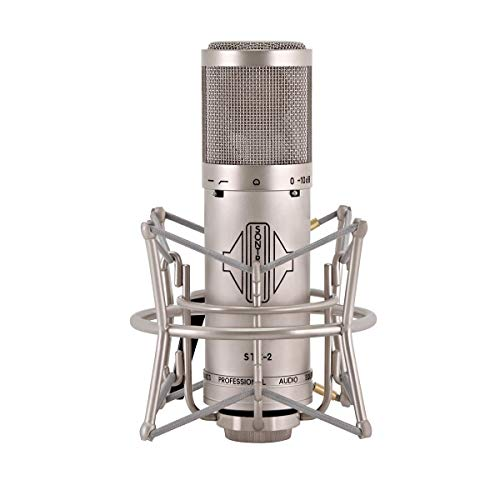 Sontronics STC-2 - Microfono a Condensatore Cardioide a Diaframma Largo, Argento