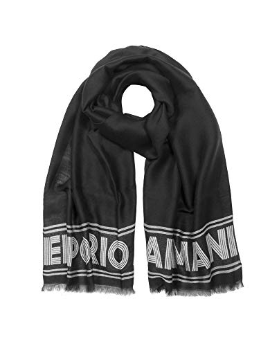 Luxury Fashion | Emporio Armani Dames 6352059A33900020 Zwart Viscose Sjaals | Herfst-winter 19