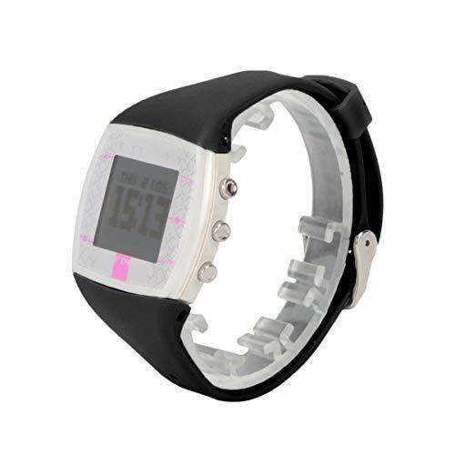 ibasenice - Correa de repuesto para Polar FT4 FT7 Watch (silicona, cierre rápido), color blanco