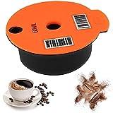 Gmasuber Filtro de café reutilizable, cápsulas de café rellenables, conveniente cápsula de café, herramienta de accesorios para máquina de café