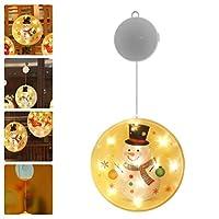 KESYOO クリスマス吊り下げライトはクリスマスの装飾品をライトアップするクリスマスの休日の家のホテルのバーの装飾のためのクリスマスの装飾を点灯します(バッテリーなし)