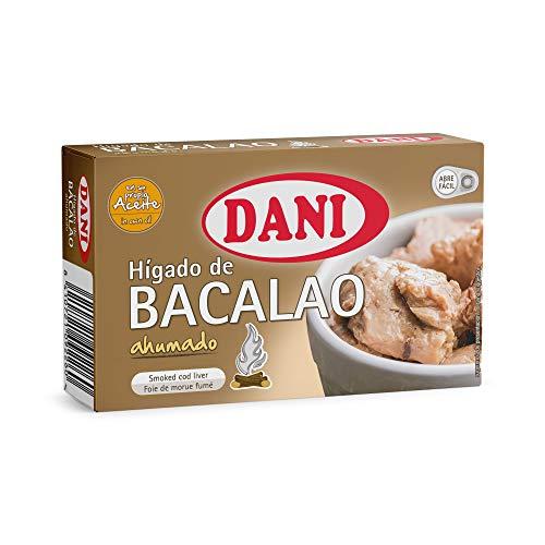 Dani - Hígado de bacalao ahumado - Pack 5 x 120 gr