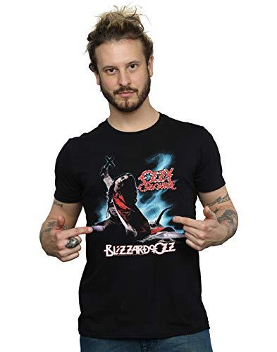 ABSOLUTECULT Ozzy Osbourne Men's Blizzard of Ozz T-Shirt Black Medium