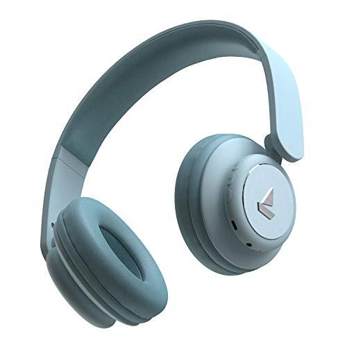boAt Rockerz 450 Bluetooth On-Ear Headphone with Mic(Aqua Blue)