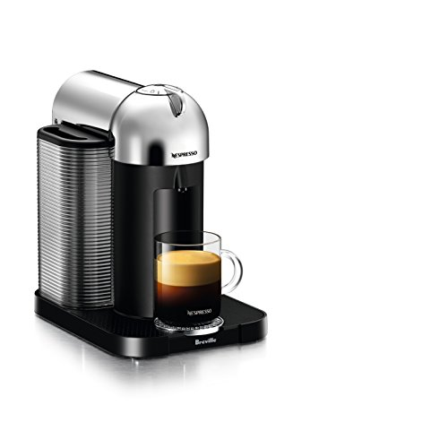 Nespresso Vertuo Coffee and Espresso Machine by Breville, Chrome