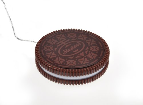 Mustard USB-Tassenwärmer - Dunkelbraun - Hot Cookie