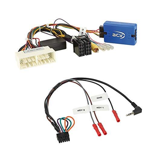 Stuurwiel afstandsbediening adapter interface SWC geschikt voor KIA Sorento I, ab 2016, nieuwe stekker + CAN bus signaal