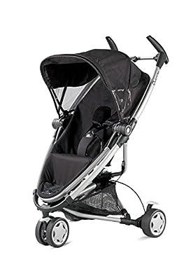 Quinny 72906760 Zapp Xtra - Silla de paseo con posición de reposo, cesto de la compra, capota, protector para la lluvia, pinza para sombrilla y adaptador para capazo