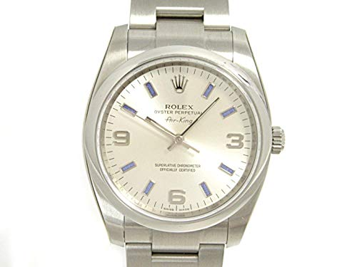 Rolex Oyster Perpetual Mechanical (Automatic) Green Dial Mens Watch 114200 (Certified Pre-Owned)