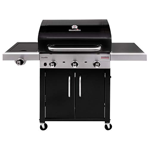 Char-Broil 140743 Gas Barbecue, Black, 3 Burners