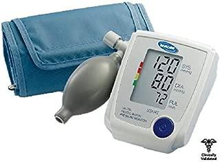 LifeSource Manual Inflation Upper Arm Blood Pressure Monitor with Automatic Digital Reading, Medium Cuff (UA-705V)