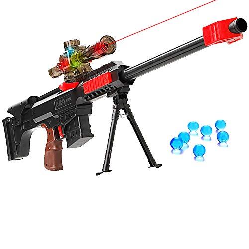 AFF Pistolas de Agua infrarrojas Pistolas para niños Sniper de plástico Soft Paintball CS Juegos Pistolas de Juguete para niños al Aire Libre