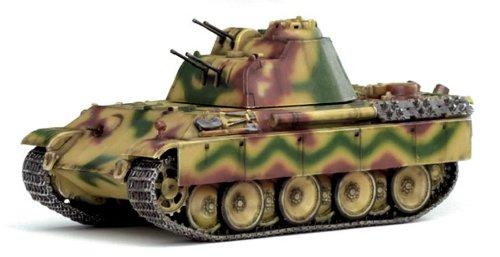 1/72 WW.II German army anti-aircraft tank 341 type 2cm anti-aircraft machine gun mounted Germany 1945 (painted) (japan import)