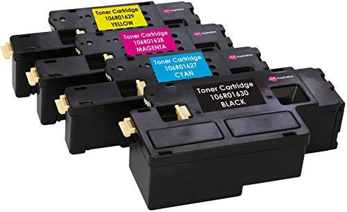 Kit 4 Toner Compatibili per Xerox Phaser 6000, 6010, 6010V, 6010V N, 6010N, WorkCentre 6015, 6015V, 6015V B, 6015V N, 6015V NI, 6015MFP | Nero: 2.000 Pagine & Ciano/Magenta/Giallo: 1.000 Pagine