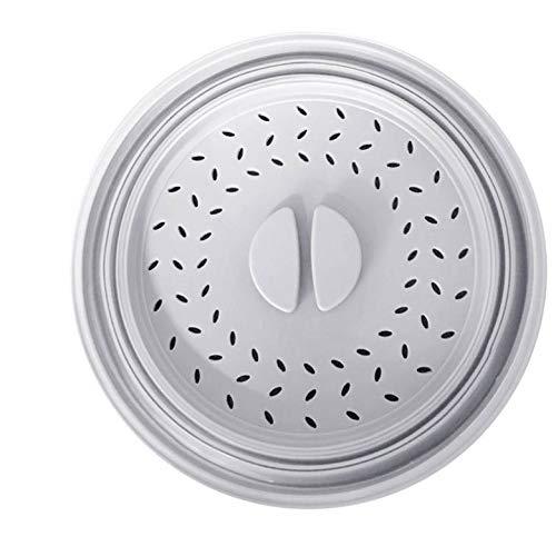 CSXM Pencil case Zusammenklappbares Sieb Zusammenklappbare Kunststoff-Mikrowelle Anti-Splash-Abdeckung Deckel Obst Gemüse Abflusskorb