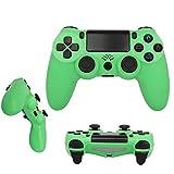 QLOVE Mando Inalámbrico para PS4, Controlador Inalámbrico, Gamepad Wireless Bluetooth Controlador Joystick con Vibración Doble, Mando para Playstation 4/PS4 Pro/PS4 Slim,Verde