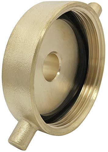 Happy Tree Brass Fire Hydrant Adapter with Pin Lug Brass Fire Equipment 2-1/2