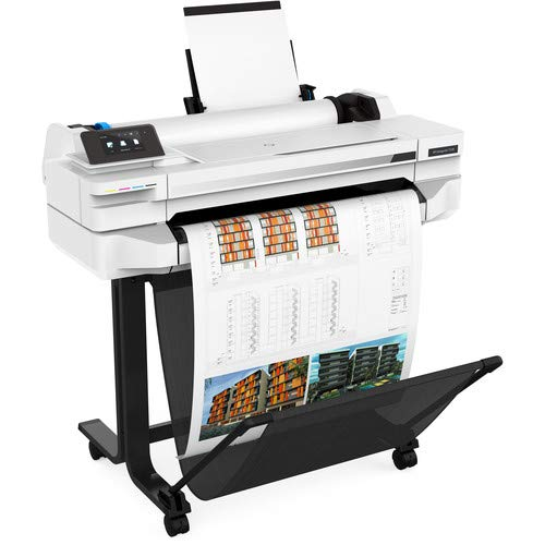 "HP DesignJet T530 24"" Large Format Printer - Color Ink Jet - (5ZY60A#B1K) with Power Strip + Printer Cable + Cat5 Cable + Wire Ties and More - Advanced Bundle Photo #7"