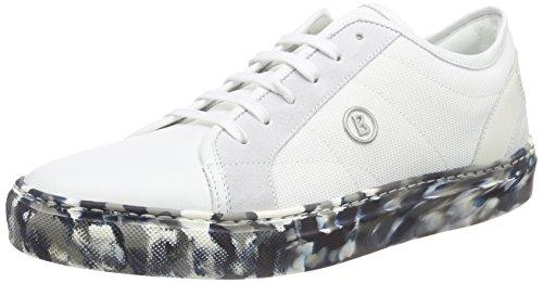 Bogner Herren Nizza 11 B Sneaker, Weiß (white 10), 41 EU